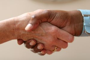 1097209 shaking hands Negotiating for Beginners