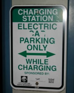 359696 electric charging sign Understanding electric cars – are they the wave of the future?